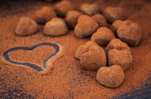 Zdrowe desery - praliny czekoladowe