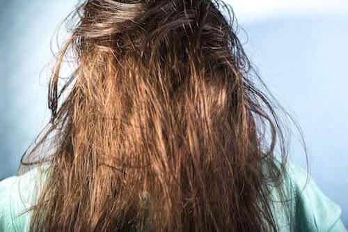 Splątane włosy