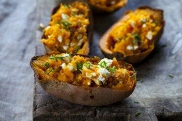 Słodki ziemniak lub batat: właściwości i zalety