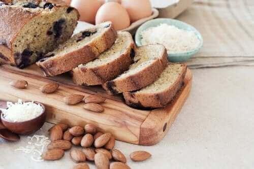 Chlebek kokosowo-migdałowy - poznaj przepis!