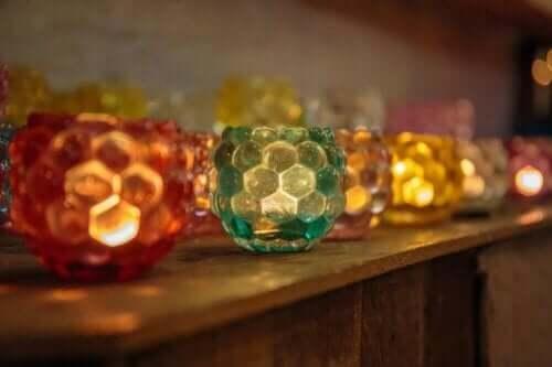 Kolorowe lampiony