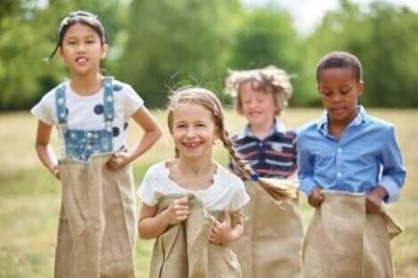 Zdrowa rywalizacja wśród dzieci