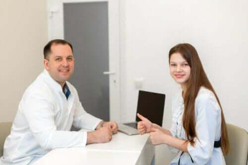 Lekarz i nastolatka