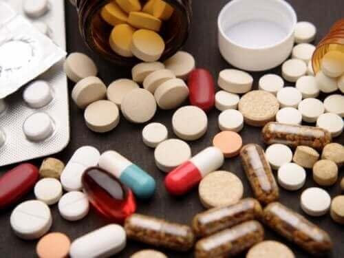 Różne tabletki