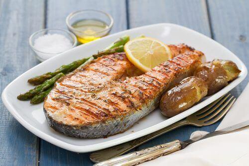 Śródziemnomorska dieta niskokaloryczna - ryba