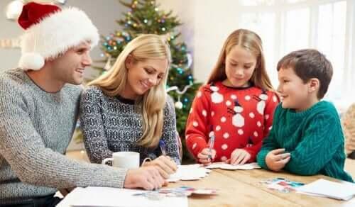 Noworoczne postanowienia, aby rozwijać się jako rodzina