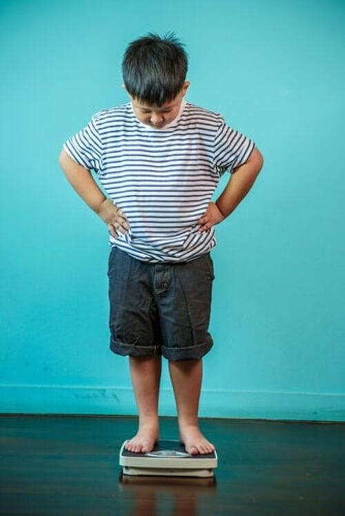 Nadwaga u dzieci - niepokojący problem