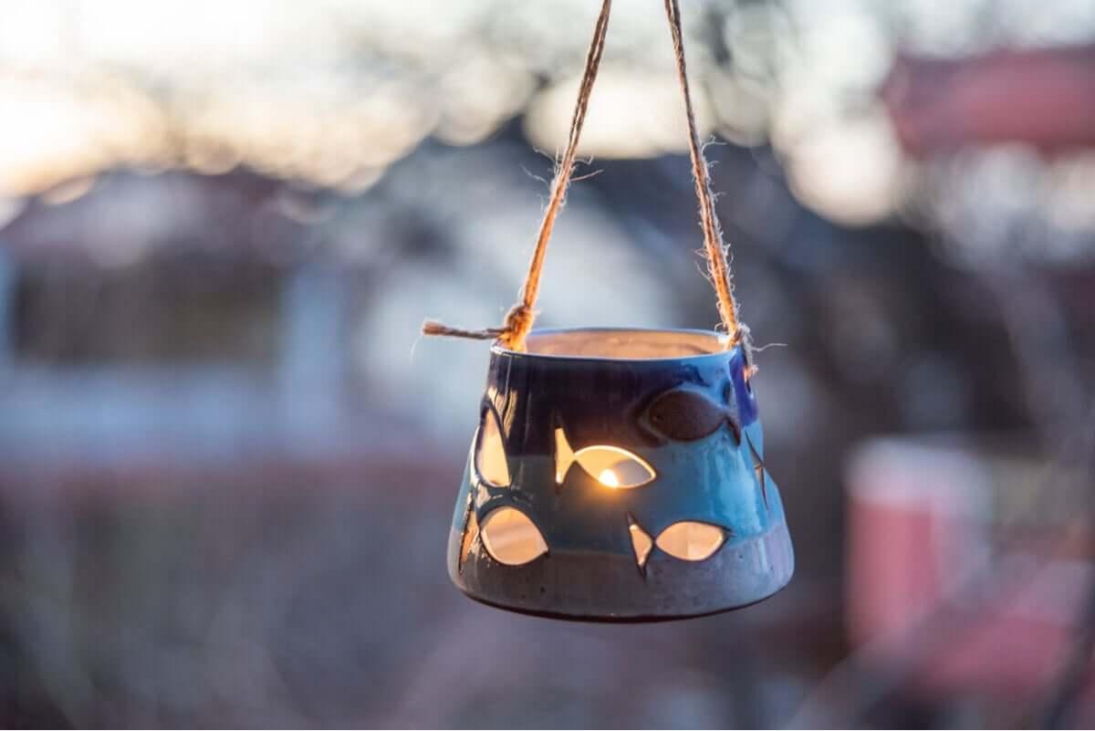 Świecznik to doskonała dekoracja również na specjalne okazje.