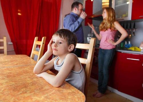 Dziecko nie rozmawia z rodzicami