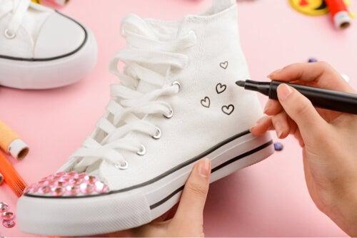 Dekorowanie butów