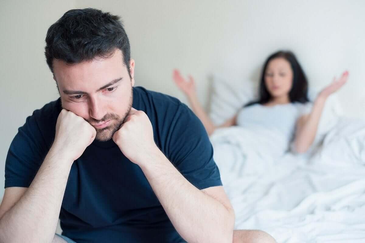 Zaburzenia erekcji to częsty problem mężczyzn.
