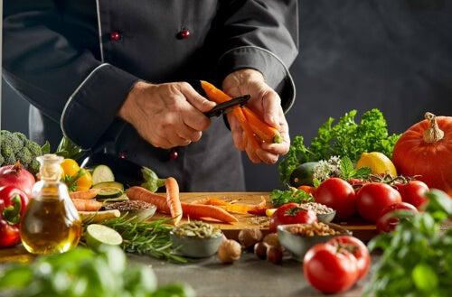 Przygotowywanie potraw z warzyw