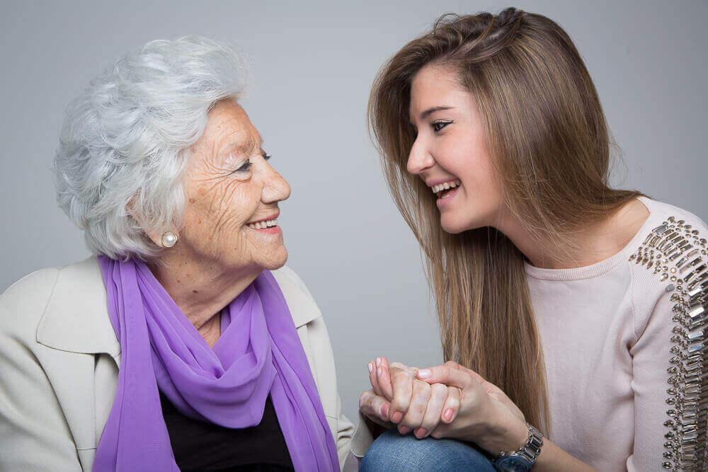 Wnuczka z babcią