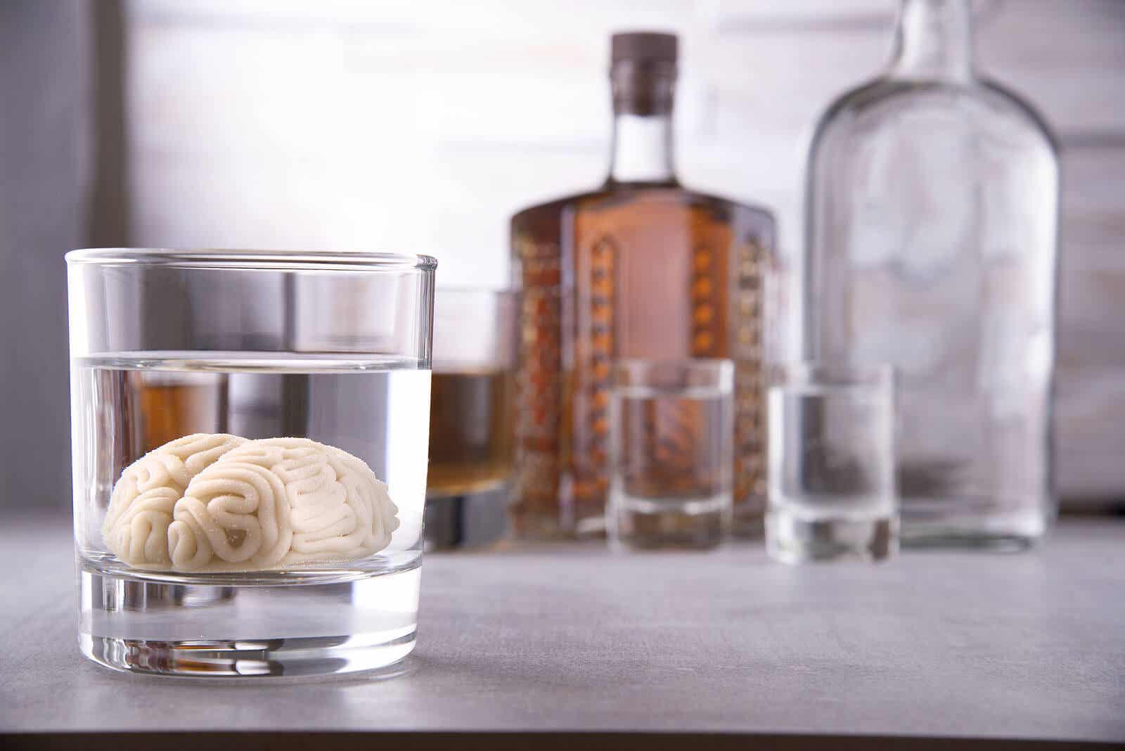 Alkohol to depresant o spowalniającym działaniu na układ nerwowy.