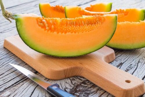 Ćwiartki melona