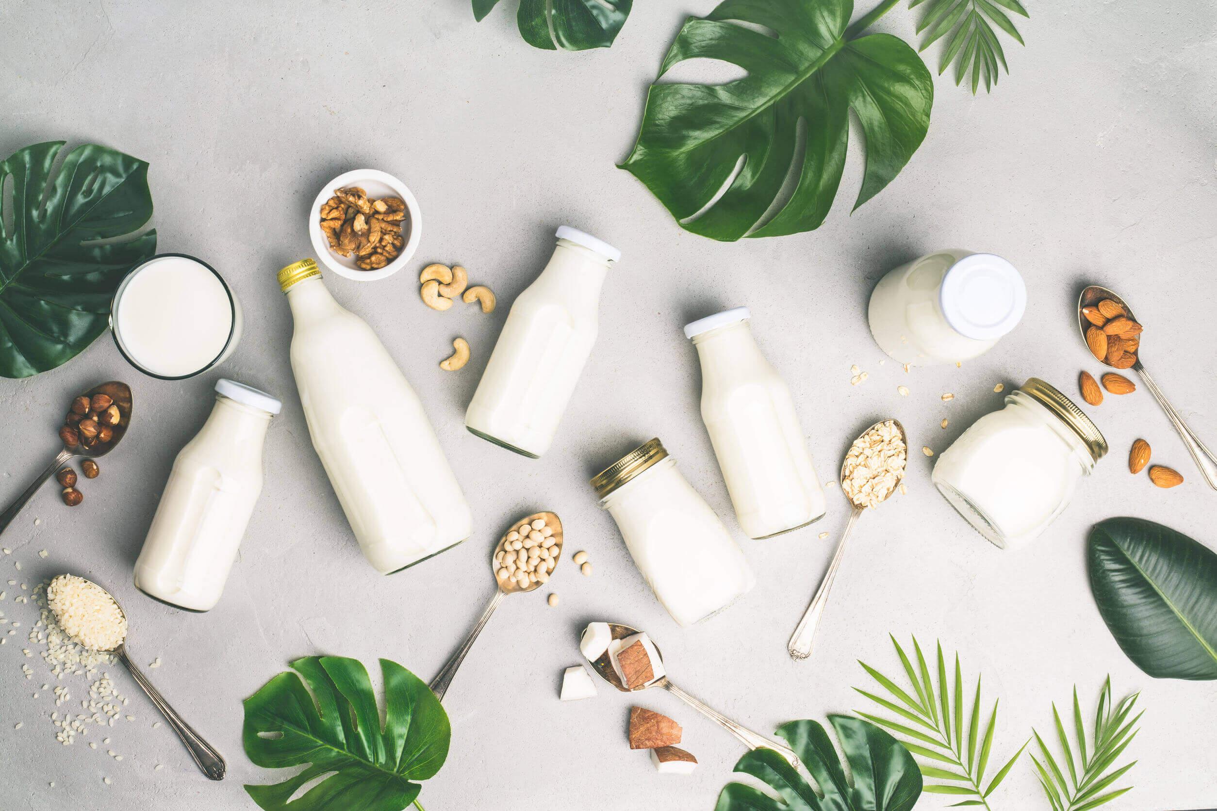 Mleko to źródło wartościowego białka.