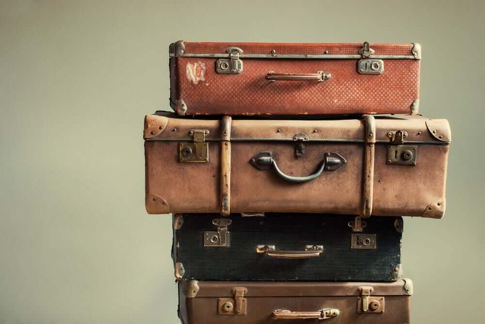 Pakowanie walizki wymaga orientacji przestrzennej. Jednym idzie to lepiej, drugim gorzej.