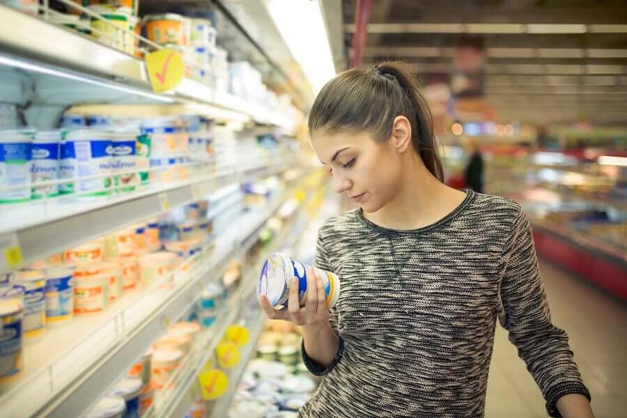 Inulina znajduje się w wielu produktach light.