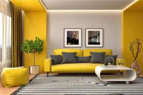 Dekoracje w żółtym kolorze: wszystko, co musisz wiedzieć