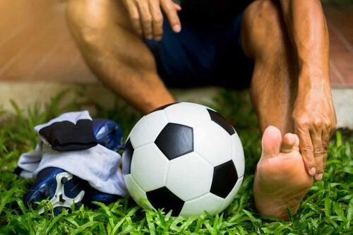 Kontuzja piłkarza