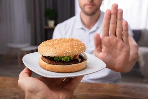 Odmawianie hamburgera