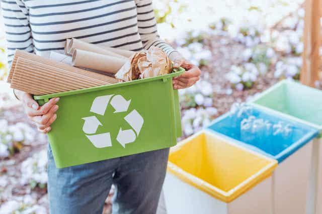 Symbol recyklingu papieru