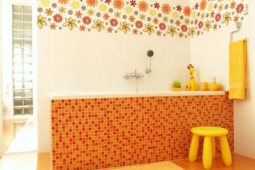 Dekoracje dziecięcych łazienek - 7 pomysłów