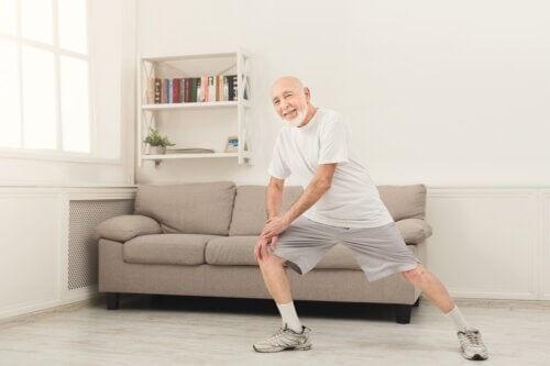 Ćwiczenia w domu dla seniorów powyżej 70 roku życia