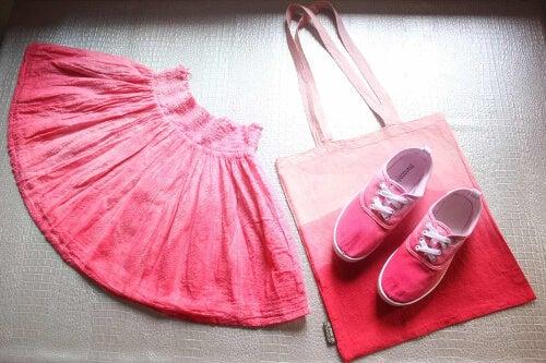 Farbowana odzież