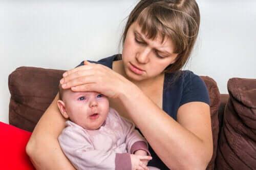 Jak leczyć zapalenie gardła u niemowląt?