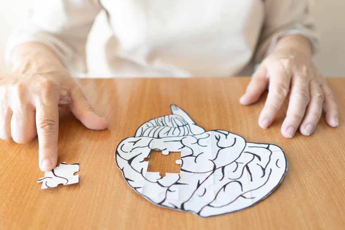 Mózg z puzzli