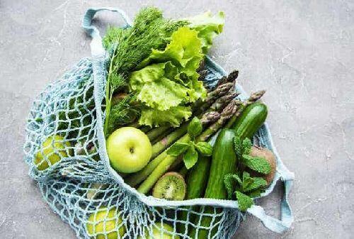 Warzywa w siatce