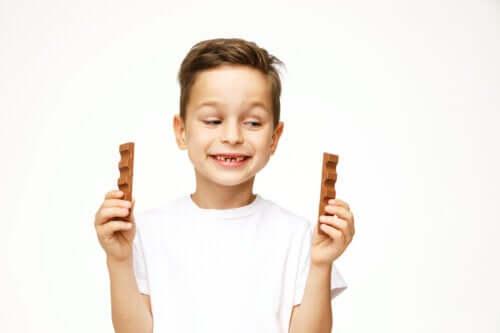 Czy jedzenie czekolady jest bezpieczne dla dzieci?